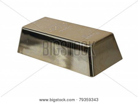 Gold Bar At An Angle