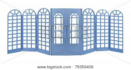 Room Divider With Doors