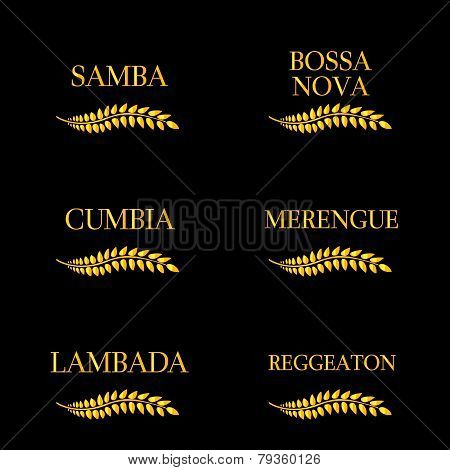 Latin Music Genres Golden Laurel