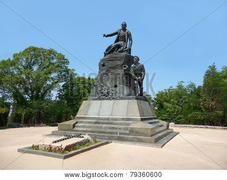 Monument To Admiral Kornilov