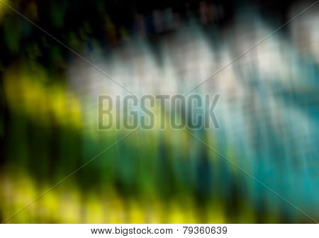 Blue,green Color Tone Abstract