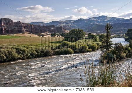 Mountains near Dubois Wyoming