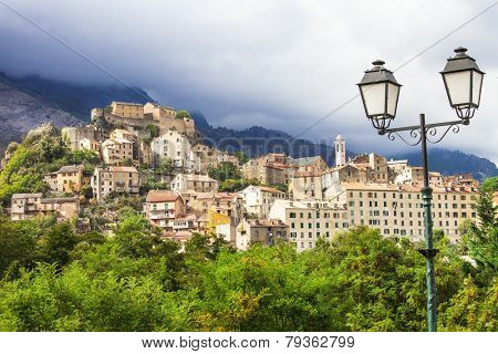 Corte - beautiful medieval town in Corsica