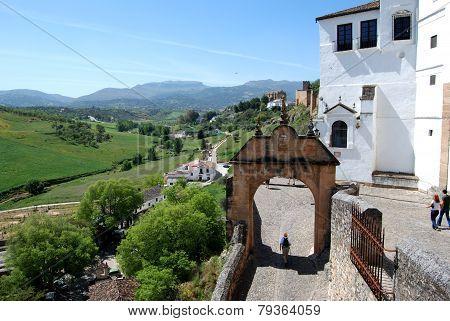 Philip V arch, Ronda.