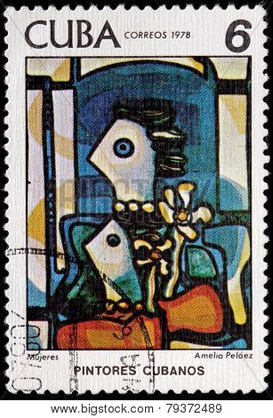 Amelia Pelaez Stamp
