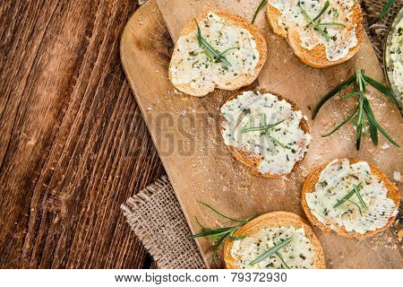 Fresh Made Herb Butter Baguettes