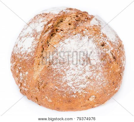 Loaf Of Bread (isolated On White)