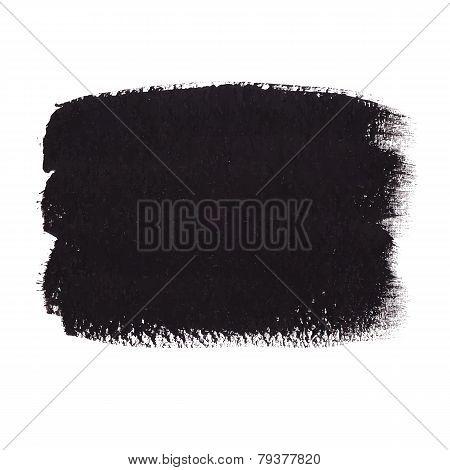 Black Acrylic Banner
