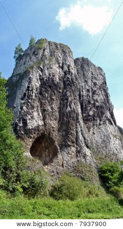 Natural cave- Pater und Nonne, Germany