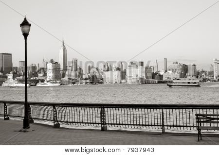 Hoboken boardwalk