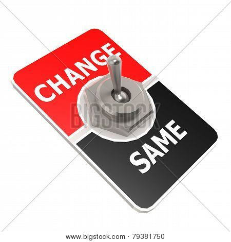 Change Toggle Switch
