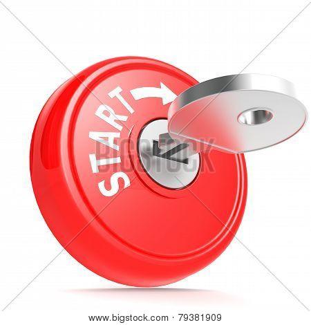 Red Start Key