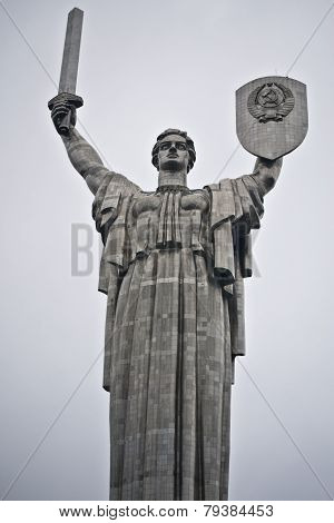 Monumental Statue Mother Motherland