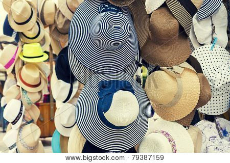 Retro Summer Hats For Sale