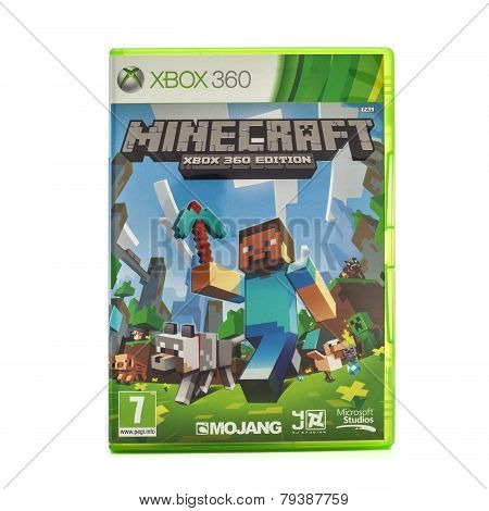 Minecraft Game For The Xbox