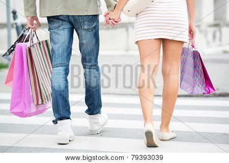 Legs In Shopping