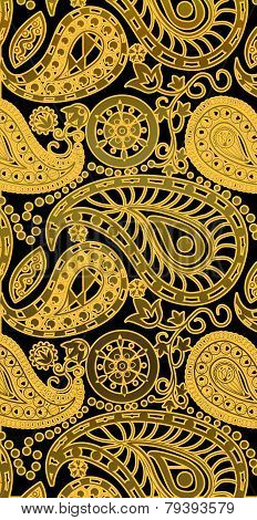 Paisley background Pattern Vector
