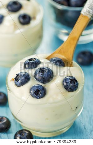 Yogurt With Bilberries