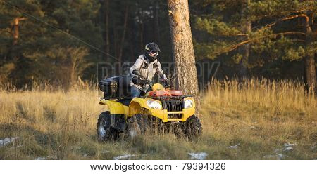 Maneuvering Off-road Atv