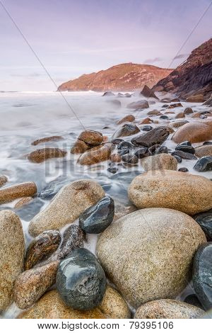 Porth ledden beach
