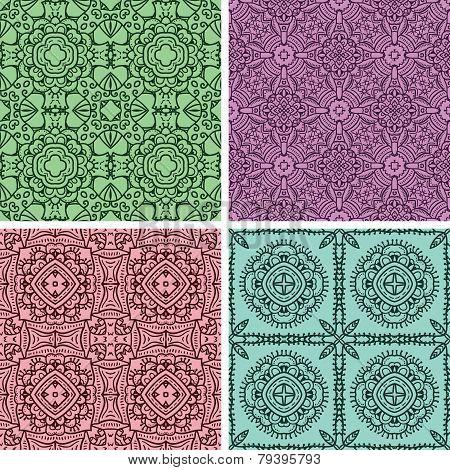 2 Set Of Ethnicity Pattern.eps