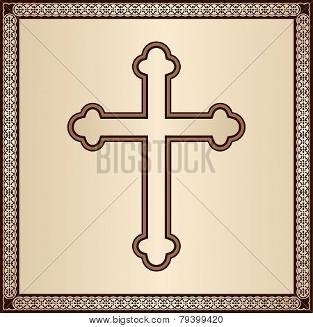 Cross With Border