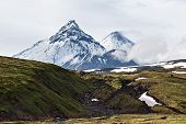 picture of volcanic  - Nature of Kamchatka  - JPG