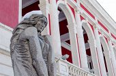 stock photo of neoclassical  - Building neoclassical style late 19th century Bulgaria Ruse - JPG