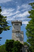 image of sochi  - Tower on Mount Akhun Russia Sochi ourdoors shot view point - JPG