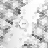 stock photo of hexagon  - Geometric background - JPG