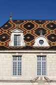 stock photo of hospice  - The hospices de Beaune in Burgundy - JPG