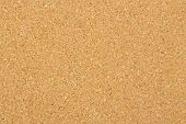 image of oblong  - macro of corkboard texture for background use - JPG