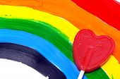 picture of transgendered  - a lollipop heart - JPG