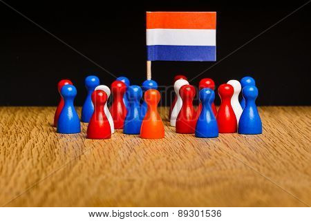 Concept The Netherlands Kingdom