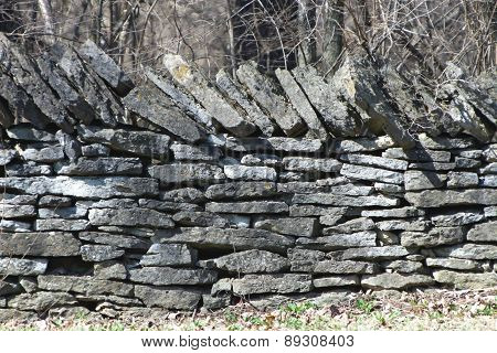 Fence/Wall of Stone