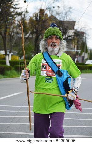 Old Marathon Runner