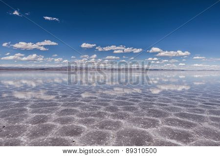 Touring through the incredible uyuni salt flats