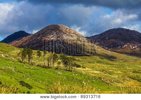 Irish Mountains And Hills
