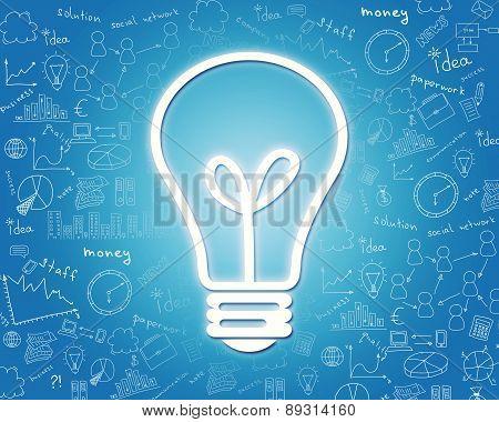 Big lightbulb icon