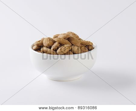 bowl of chocolate mini cookies
