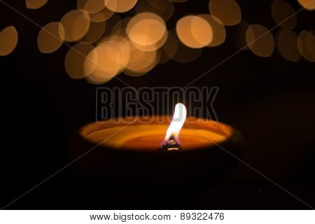 Candlelight With Bokeh