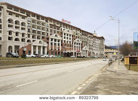 Sochi Marriott Krasnaya Polyana in Gorky Gorod resort