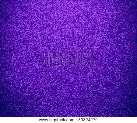 Blue-violet color leather texture background