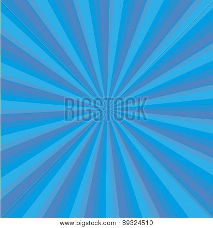 Blue background center line