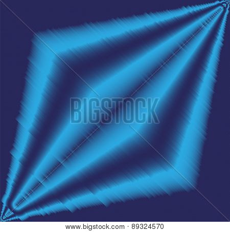Blue effect light background vector