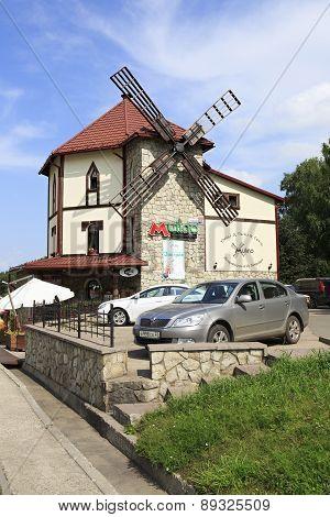 Cafe Mulino in resort Belokurikha.