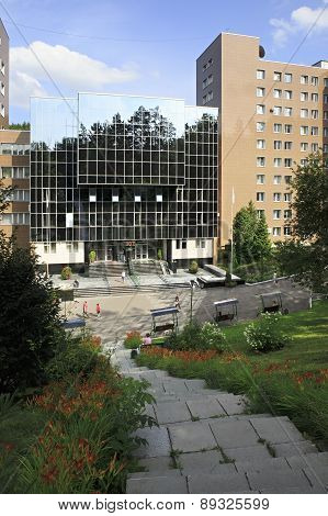 Sanatorium Russia in the resort Belokuriha.