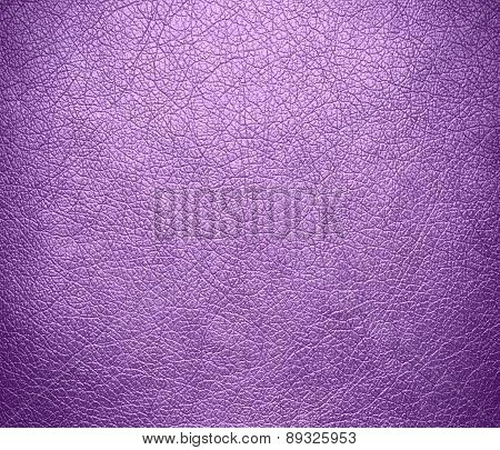 Bright lilac color leather texture background