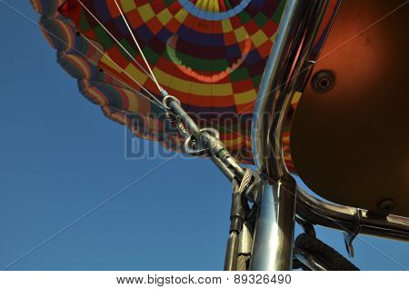 Tie rope for hot air ballon