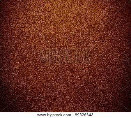 Brown (traditional) color leather texture background